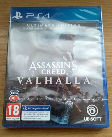 AC Valhalla Ultimate PS4 PS5 PL Assasin's Creed