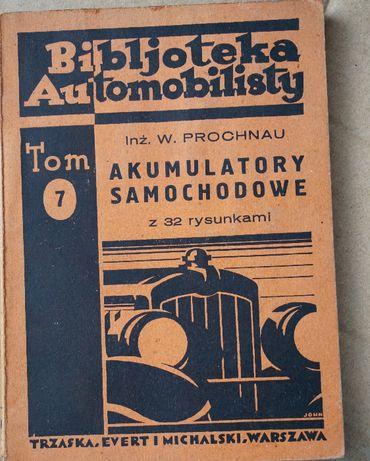 Bibljoteka Automobilisty Tom 7 Akumulatory samochodowe