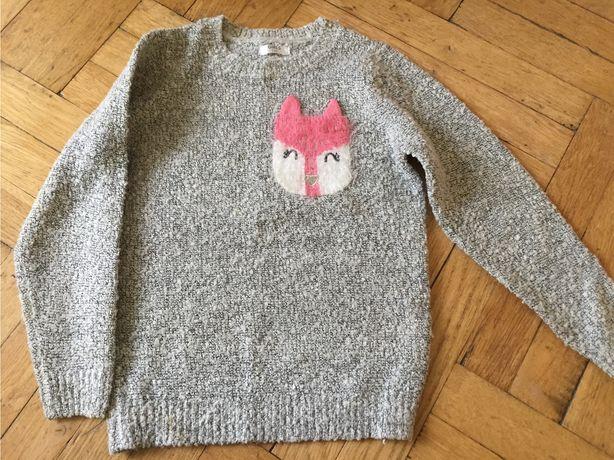 Sweterek dla dziewczynki 116