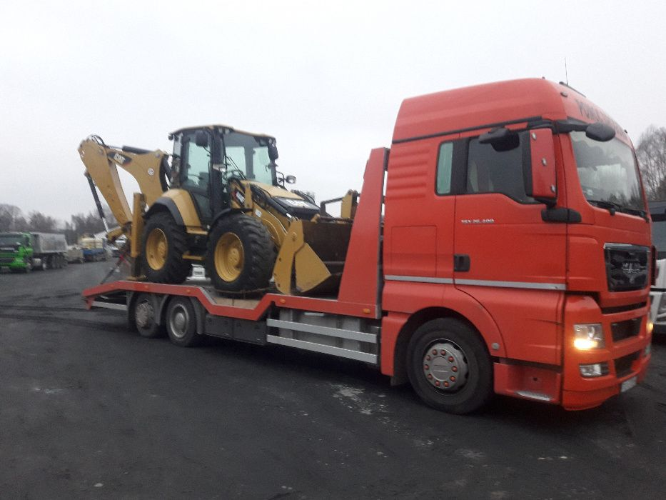 Pomoc drogowa ,Laweta, Transport koparek ,maszyn, ciągników