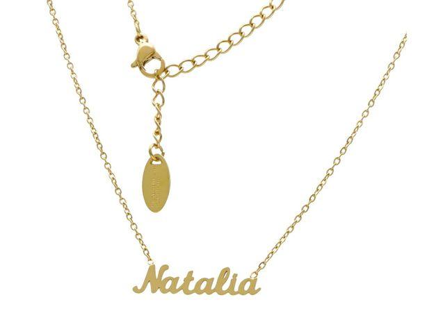 Naszyjnik imienny ***NATALIA***stal chirurgiczna