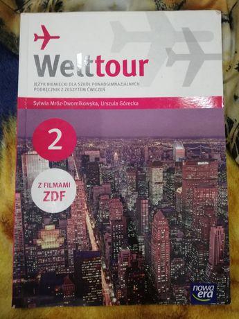 Podrecznik z ćwiczeniami j. Niemiecki Welttour