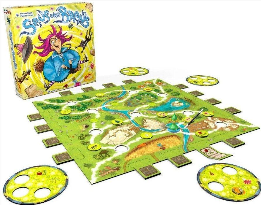 Zoch игра Магическая метла Saus und Brau's оригинал Германия Днепр - изображение 1