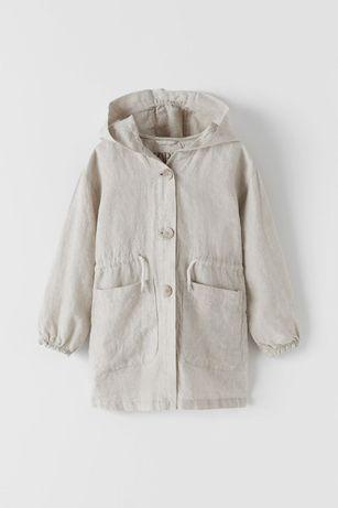 Тренч Zara. Лёгкая куртка