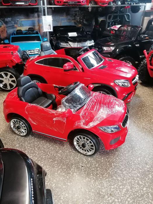 Wielki mercedes na akumulator dla dzieci skóra, usb sklep z pojazdami! Olkusz - image 1