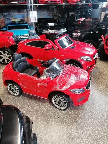 Wielki mercedes na akumulator dla dzieci skóra, usb sklep z pojazdami!