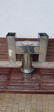 Wywietrzak / Nasada kominowa typu H - Nierdzewna - Ø150