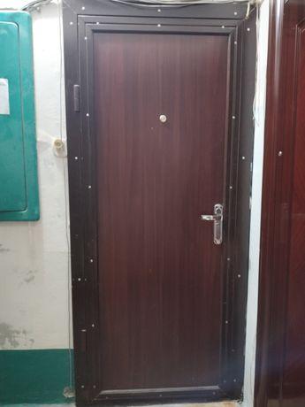 Бронированные двери в очень хорошем состоянии