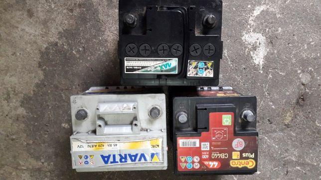 Akumulator samochodowy CENTRA WARTA LUB INNE od 360 A do 460 A
