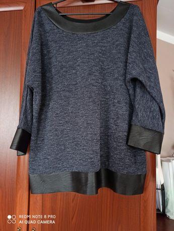 Bluzeczka z eco skóry Nowa xxl