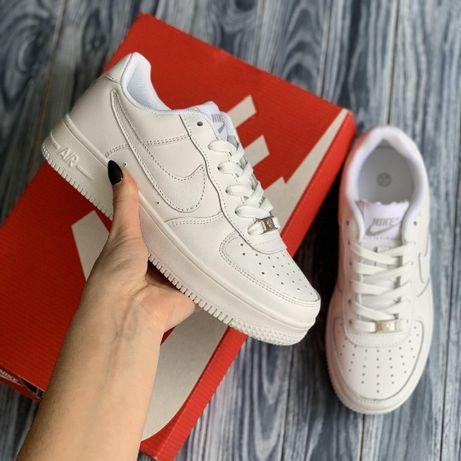 3093 Nike Air Force белые кроссовки мужские найк аир форс кросовки