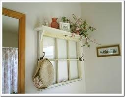 Janelas antigas para decoração