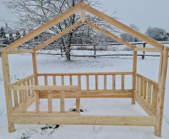 Nowe łóżko drewniane - (domek) dla dziecka, 160x90