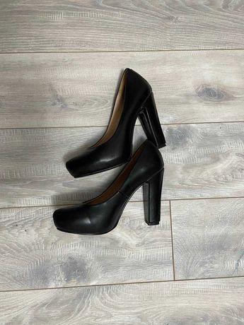 Туфли черные лодочки, lino marano