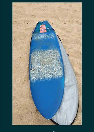 NSP Epoxy 7 Evolution 6.6 Funboard 6.4 prancha de surf deck fins fcs