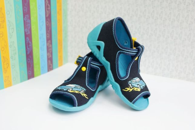 BEFADO kapcie sandałki Nowe nauka chodzenia 18