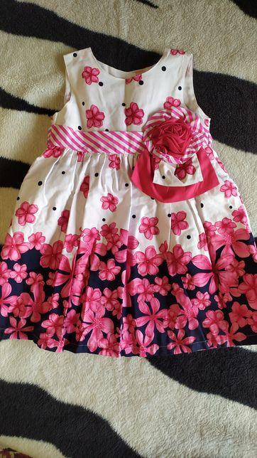 Нарядное платье Carters 1-1,5 года