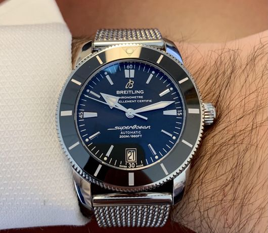 Breitling Superocean AB2010121B1A1 Heritage omega 42mm часы оригинал