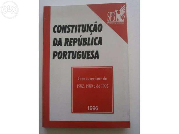 """Livro """"constituição da republica portuguesa"""" - spn editores & livreiro"""