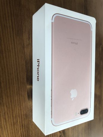 iPhone 7 Plus 256GB Rose Gold pudelko
