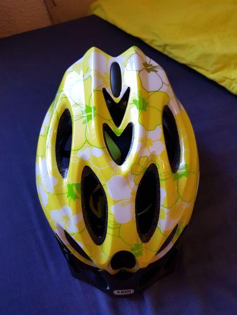 Sprzedam kask rowerowy firmy Abus rozmiar 48-55cm .kask 2 dni założony
