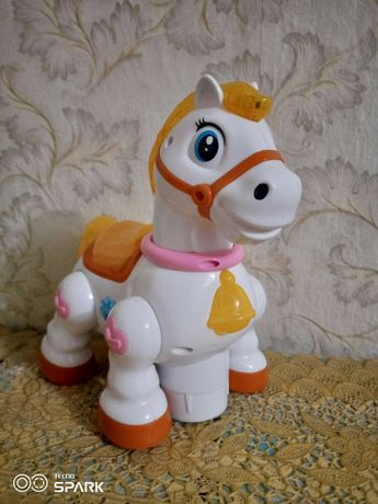 Детская музыкальная лошадка