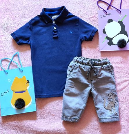 Комплект набор шорты футболка на лето zara next Disney H&M 5-6 лет