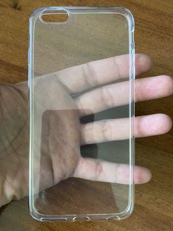 Продам новий прозорий силіконовий чохол на Iphone 6s plus