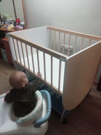 Приставная кроватка для новорожденного МВ 005 Original Еxclusive