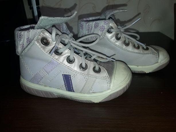 Деми ботинки кожа 23 р-р 14.5 см