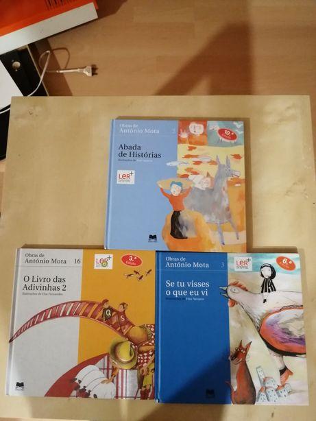 Livros do escritor António Mota