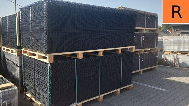 Panel ogrodzeniowy Panele ogrodzeniowe Ogrodzenie grafitowe systemowe