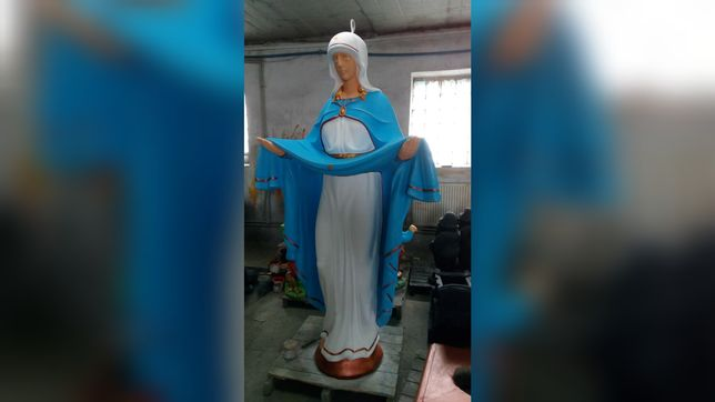 Матір Божа Покрова статуя бетон 220 см Матерь Божья фигурка скульптур
