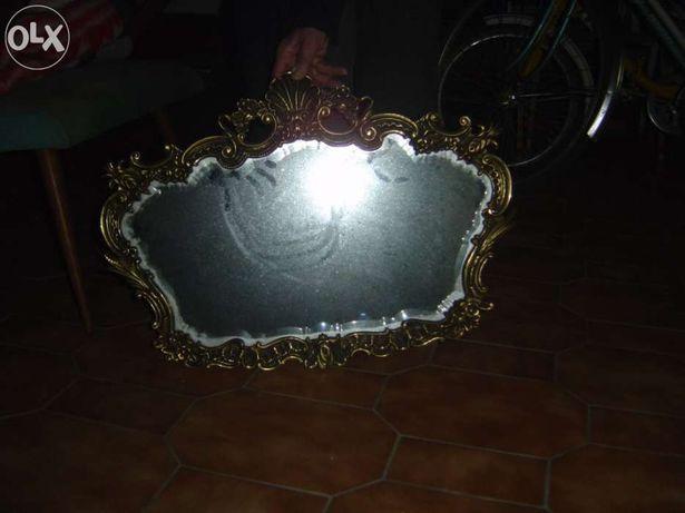 Espelho em latão lapidado
