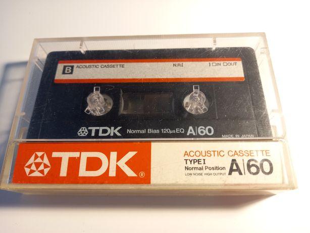 Kaseta magnetofonowa TDK A60