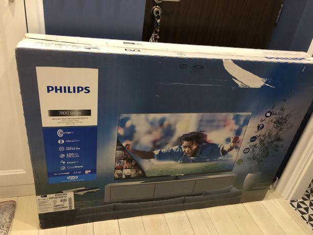 Telewizor 55 cali LED PHILIPS 55PUS7809 4K 3D Ambilight