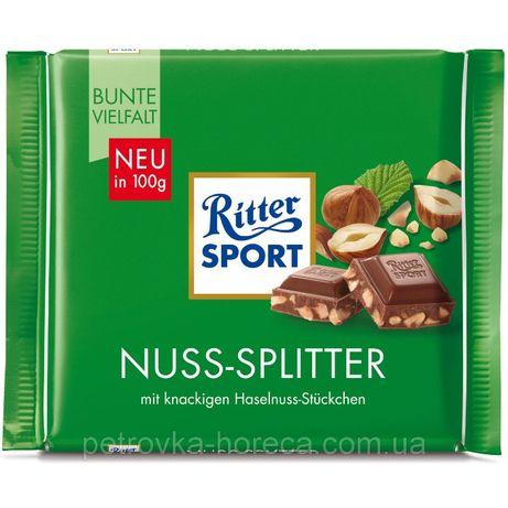 Шоколад Ritter Sport HAZELNUTS Лесной Орех 100г. Арт 02255