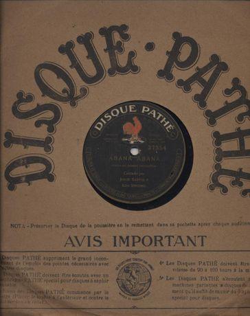 Disco de 80 rpm - antigo - Pathé