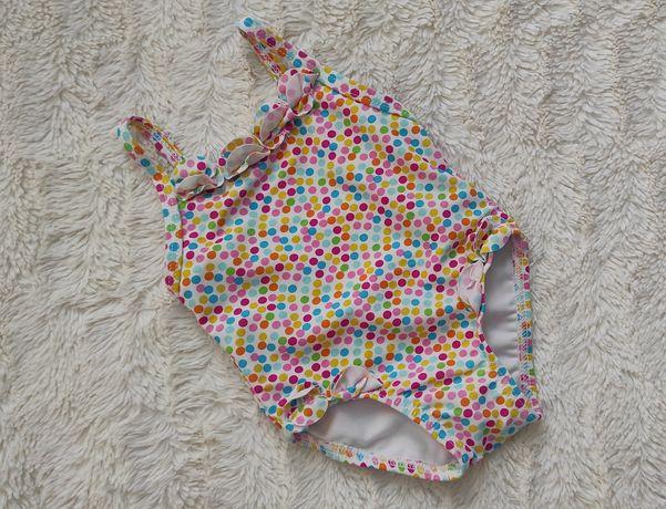 Groszki strój kąpielowy jednoczęściowy kostium dziecięcy 0-3 M
