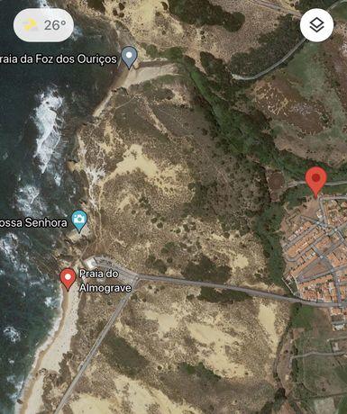 Terreno urbano na costa vicentina (Almograve) vista mar e dunas