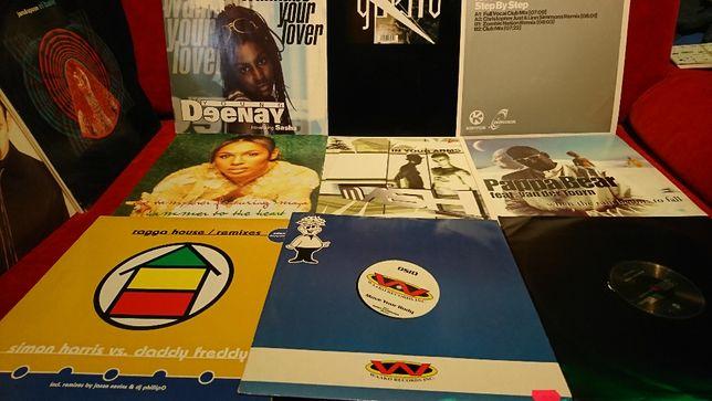 Płyty Winylowe,Vinyl,Duża Kolekcja,Lata 80,90,2000,House,Disco,Techno!