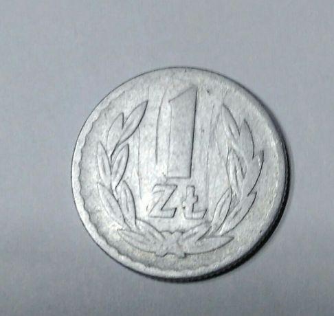Moneta 1 zł z 1949r.