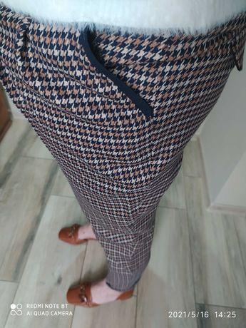 Spodnie Solar w kratkę