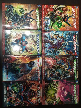 Justice League 1-8 HC New 52 Liga sprawiedliwości