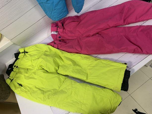 Детские лыжные штаны.рост 134