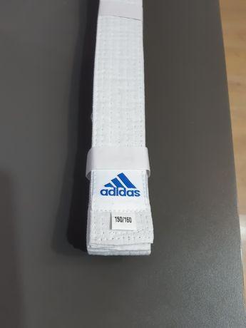 Pas adidas nowy biały do kimona 240cm karate