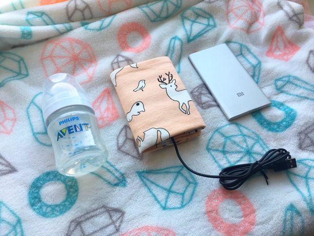 СУПЕР ЦЕНА !! Мобильный нагреватель для детских бутылочек. ТЕРМОС