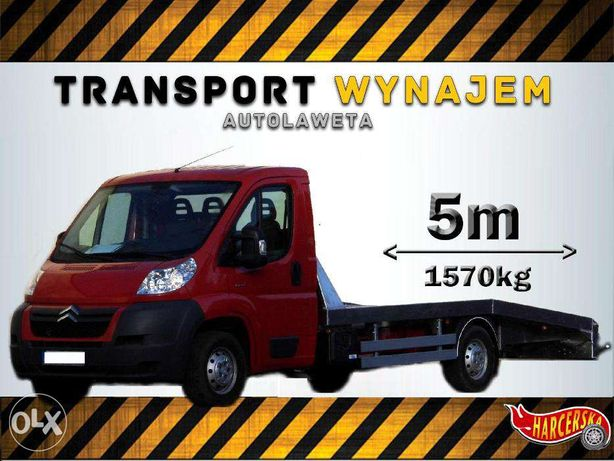 Do wynajęcia Autolaweta najazd pomoc drogowa usługi transportowe