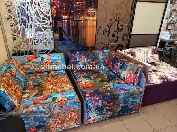 детский диван кубик, детская кровать, мягкая мебель