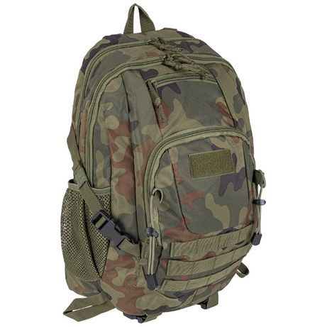 Wojskowy Plecak Taktyczny CAIMAN OLIVE, CZARNY, MORO 35L